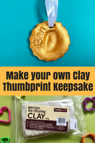 Crafts: Make a Clay Thumbprint Keepsake