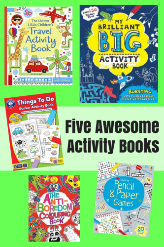 Children's Books: Five Awesome Activity Books
