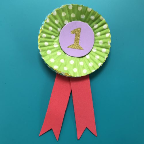Crafts: Make Your Own Cupcake Case Prize Rosette