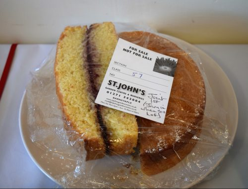 Recipe: My Prize Winning Victoria Sponge