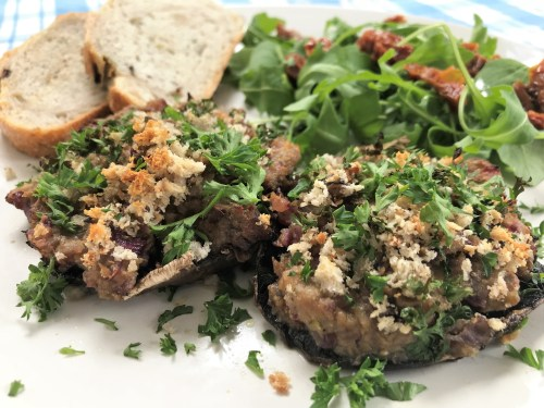 Simple Recipe: Pâté stuffed Mushrooms