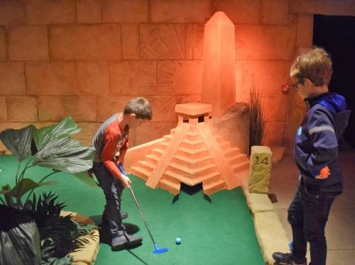 Review: Treetop Adventure Golf, Manchester