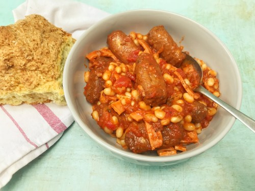 Frugal Recipe: Vegetarian Pork and Beans