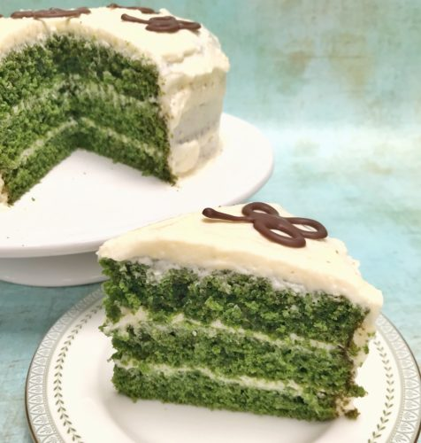Brilliant Bakes: Green Velvet Cake