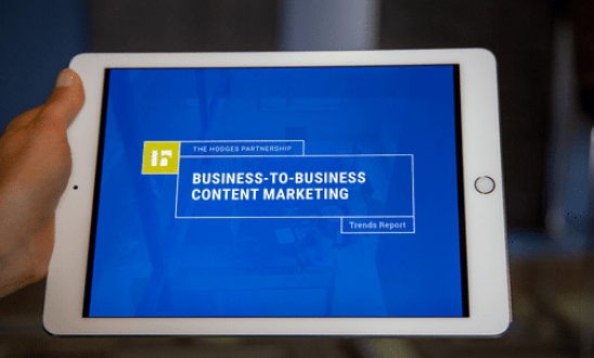 B2B Content Marketing Trends Report