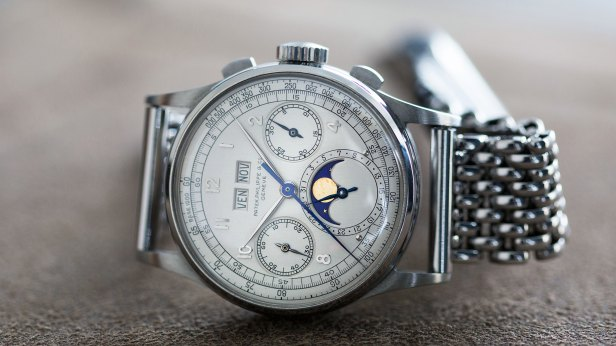 Image result for Patek Philippe Ref. 1518 in Stainless Steel