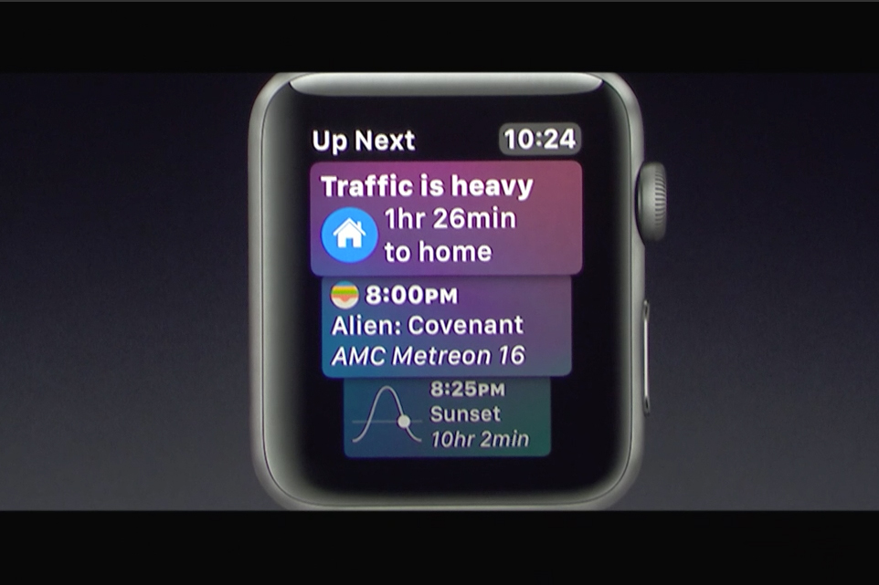 watchOS 4 siri watchface  Apple introduces watchOS 4 and the new Siri watch interface watch 01