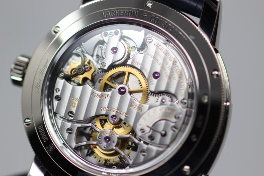 <p>The caliber 2755 has 55 hours of power reserve which is indicated on the movement itself.</p>
