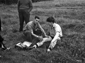 Football Hodnet (3) August 1962