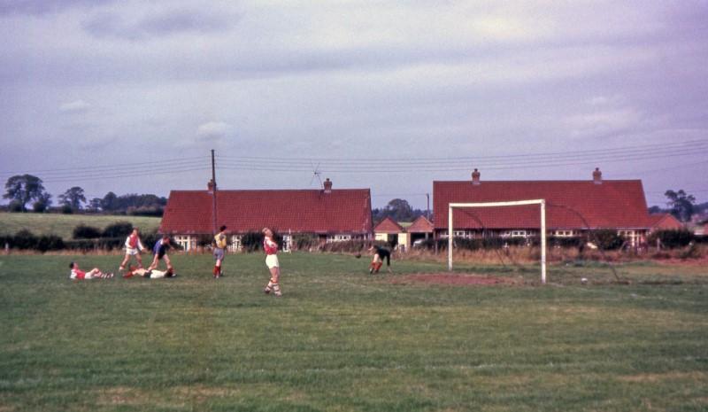 Football Hodnet September 1963