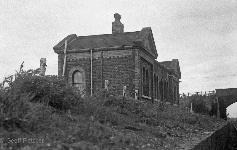 Hodnet Station Buildings March 1967
