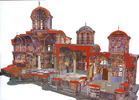 Манастир Хиландар - Католикон, пресек