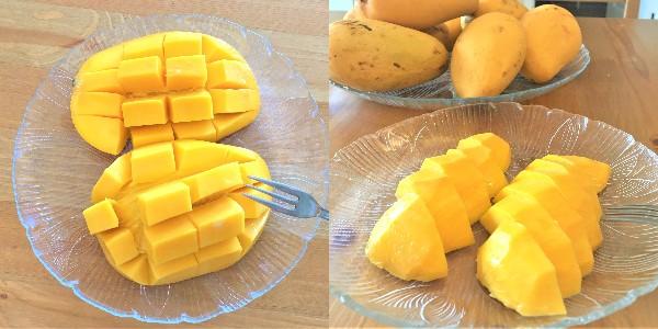 マンゴー切り方比較