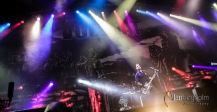 Volbeat på Jyske Bank Boxen, Danmark, 2013
