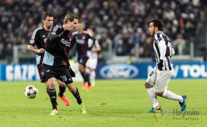 Juventus FC against FC Copenhagen in UEFA Champions League, 2013