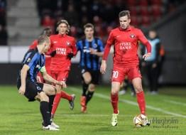 UEFA Europa League FC Midtjylland mod Club Brugge på MCH Arena i Herning, d. 10 December