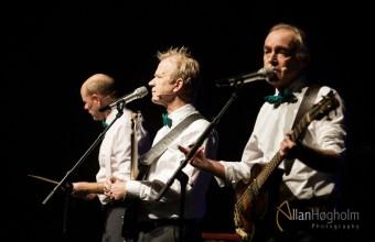De Nattergale Æ JULETUR 2015 spiller i Musikhuset Aarhus i Aarhus, d. 18 Dec 2015: (Photo by Allan Høgholm Photography, www.hoegholm.dk).