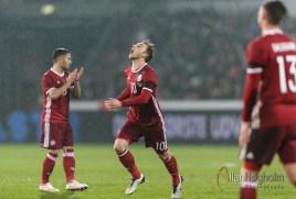 Danmarks Fodboldlandshold mod Island i fodbold i en venskabskamp på MCH Arena i Herning.