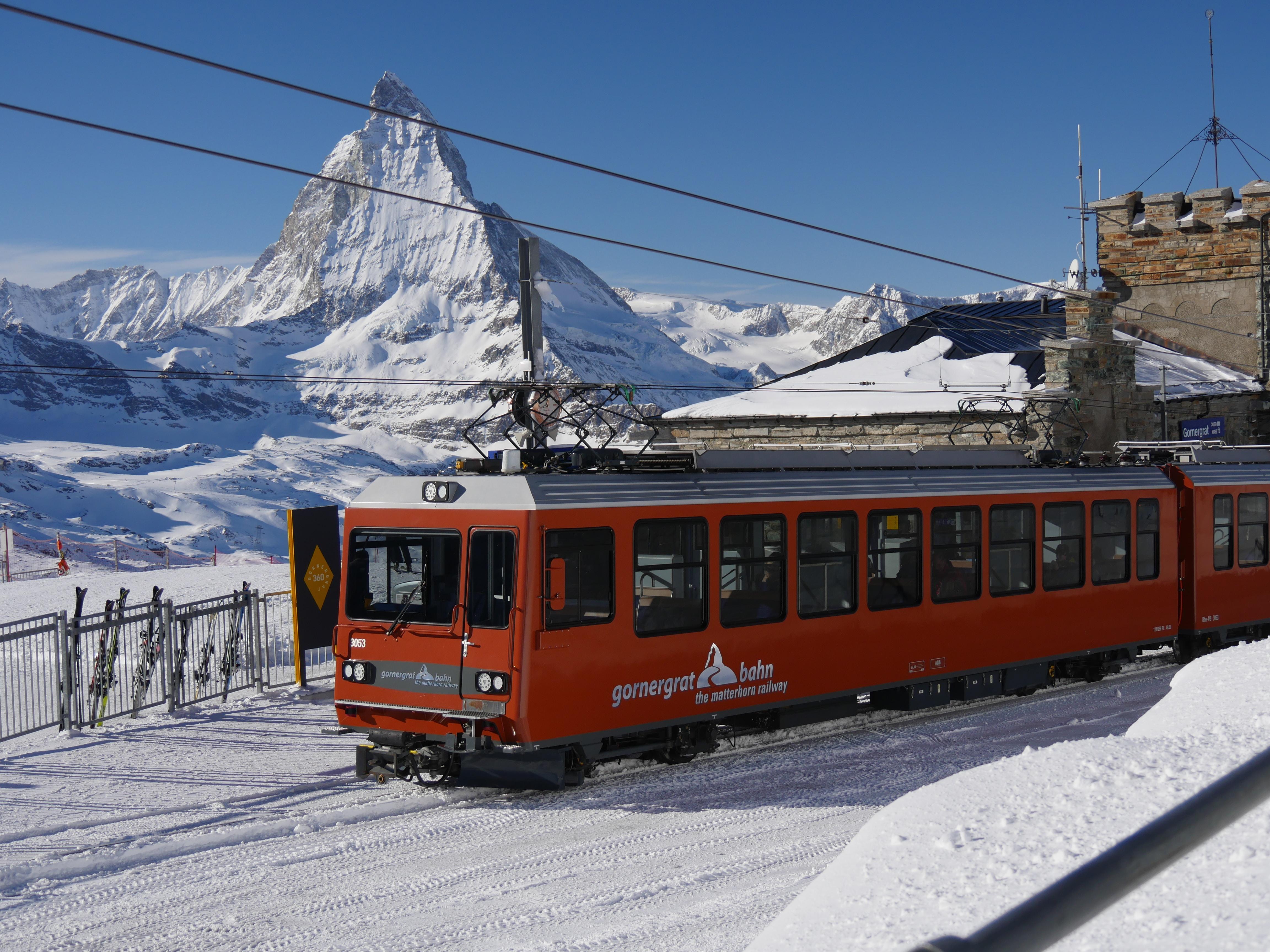 Fahrt auf das Kleine Matterhorn nach Schlaganfall