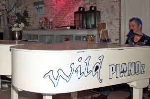 Friday Night Live in Mijn Torpedoloods de Wild Pianoz. Foto: Karin Brussaard.