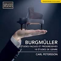 Norbert Burgmüller: 25 Études Faciles et Progressives … Carl Petersson