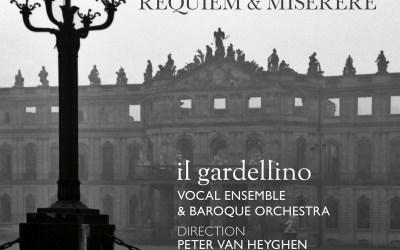 Jommelli: Requiem & Miserere – il gardellino / van Heyghen