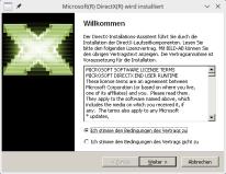 Steam Play installiert DirectX Setup