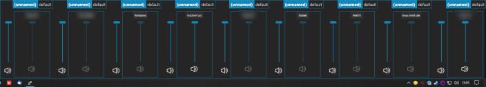 SnapCast Client GUI Windows