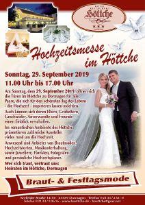 Hochzeitsmesse im Höttche 2019
