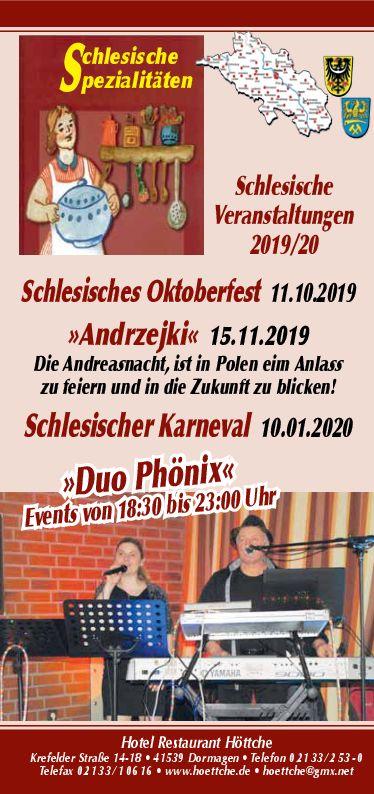 Schlesisches Oktoberfest 2019