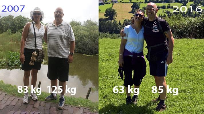Wim Tilburgs valt 40 kilo af en geneest van diabetes