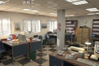 """POV-Ray Hall of Fame: """"Office"""""""