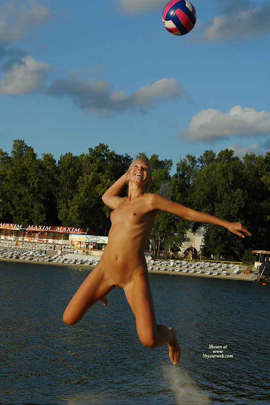Volleyball naked beach Volleyball