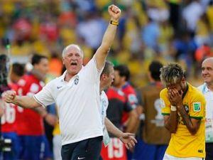 Luiz Felipe Scolari ,Neymar