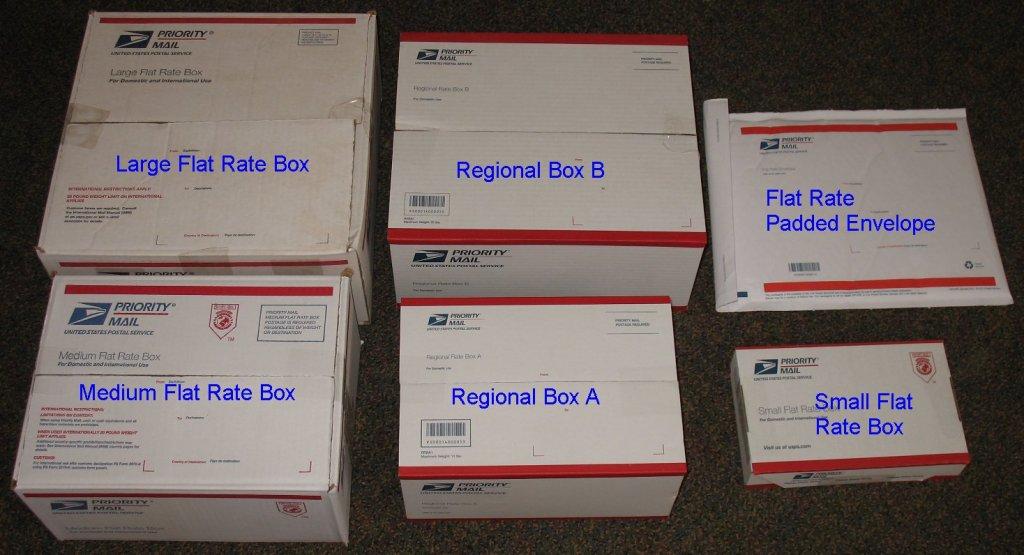 United States Postal Service Ups Flat Rate Box Sizes