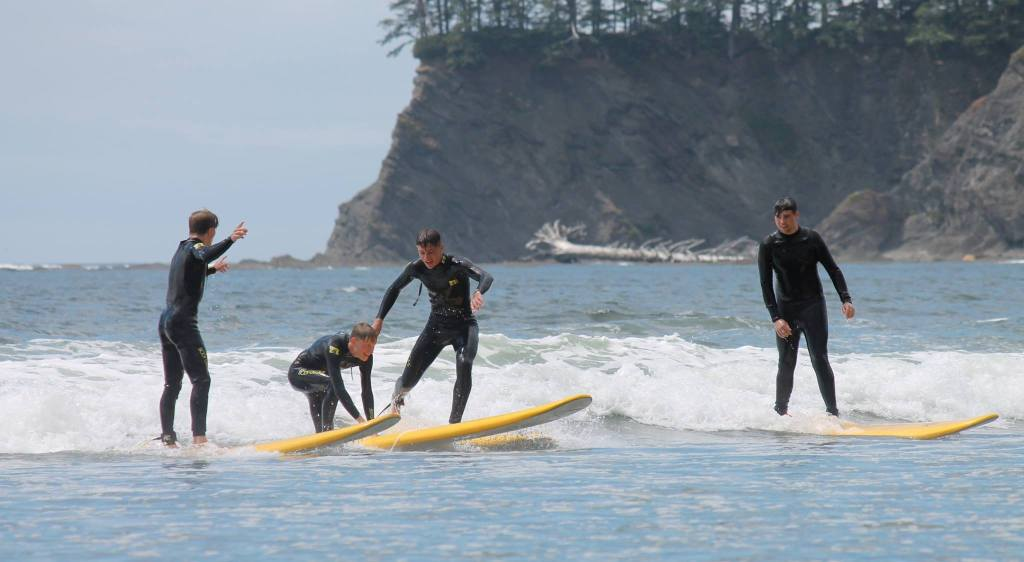 Neah Bay is the best place to fish in Washington State.  Hobuck is the best surfing in Washington.  Shishi Beach is one of Washington's top beaches.  All of it is must-do.