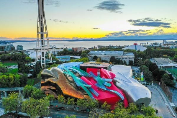 We could spend the entire weekend at the Seattle Center and not see everything.