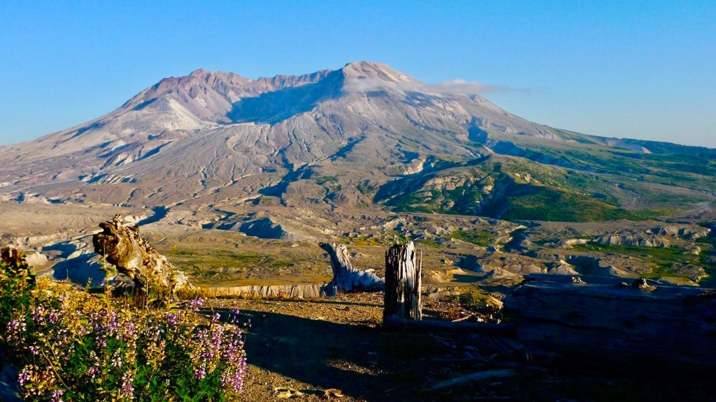 Mt. Saint Helens was the most disruptive volcanic eruption in the history of the USA.  An amazing sight to behold.