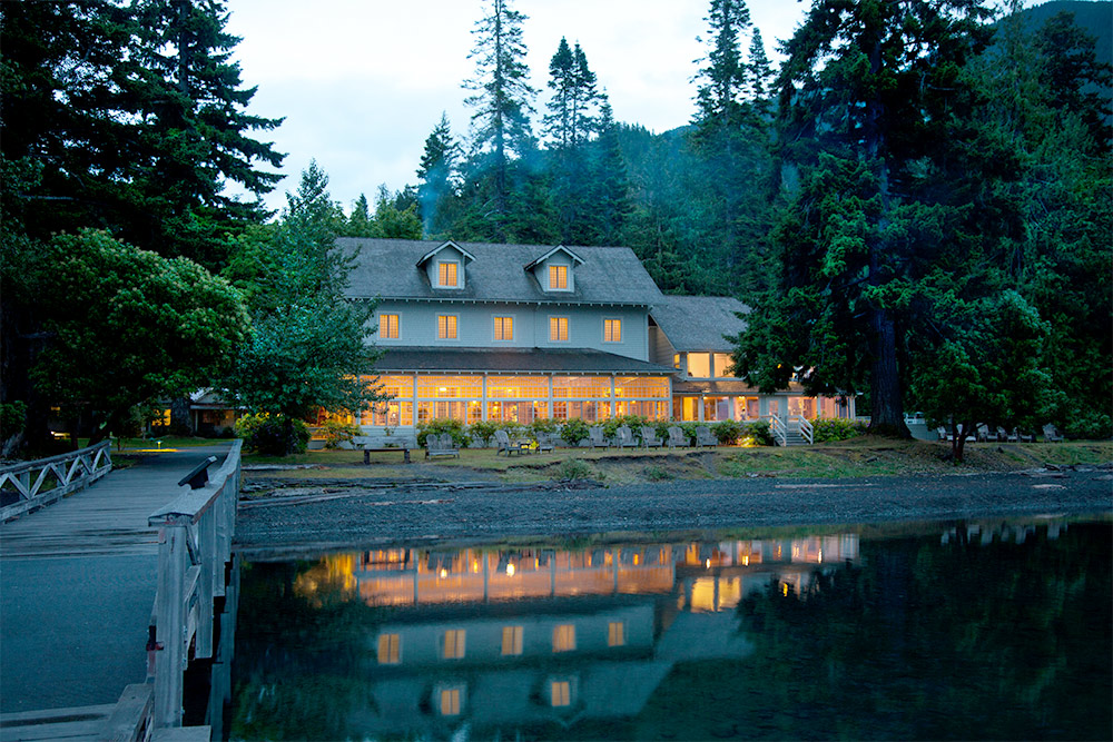 Lake Crescent Lodge is a great hub for your vacation to Olympic National Park.