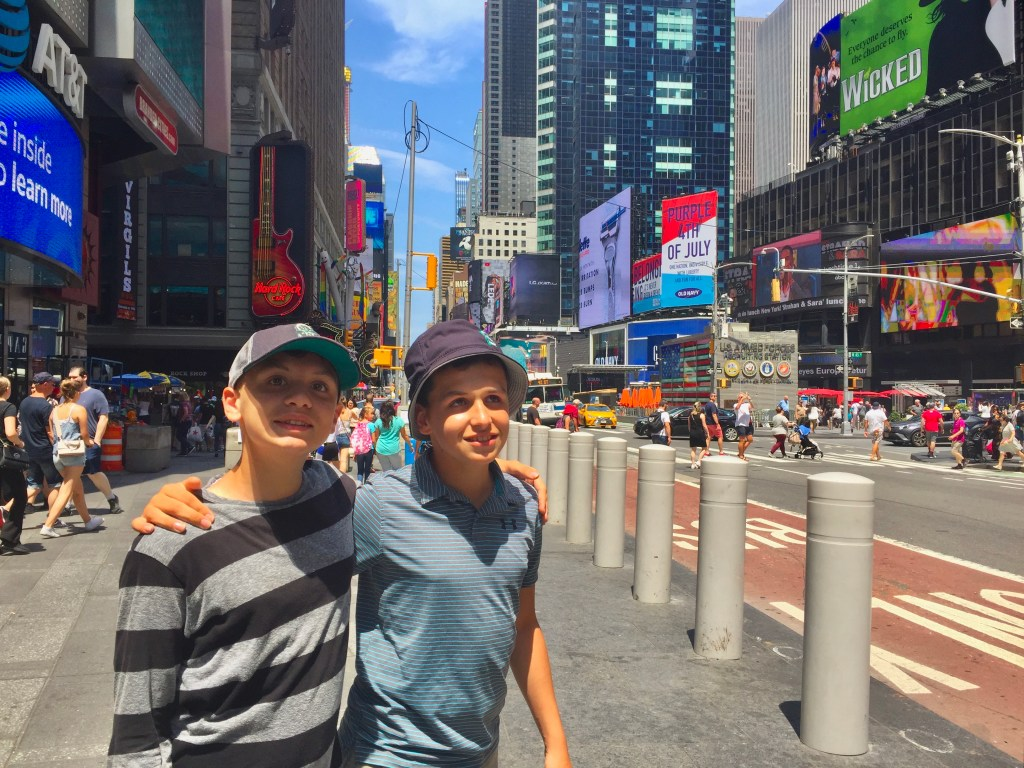 NYC is one of the best places we've been in the USA