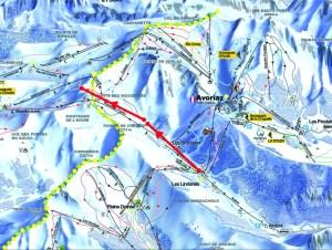 Avoriaz Portes du Soleil new ski lift