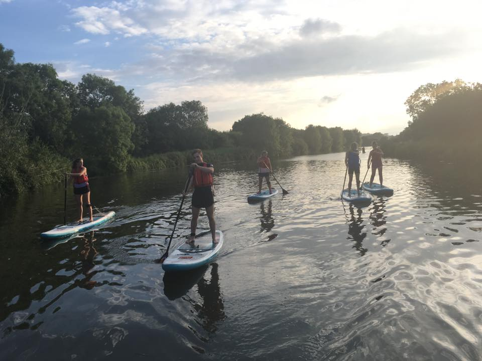 solo SUP weekend