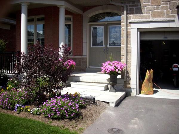 hogan landscaping inviting entrance