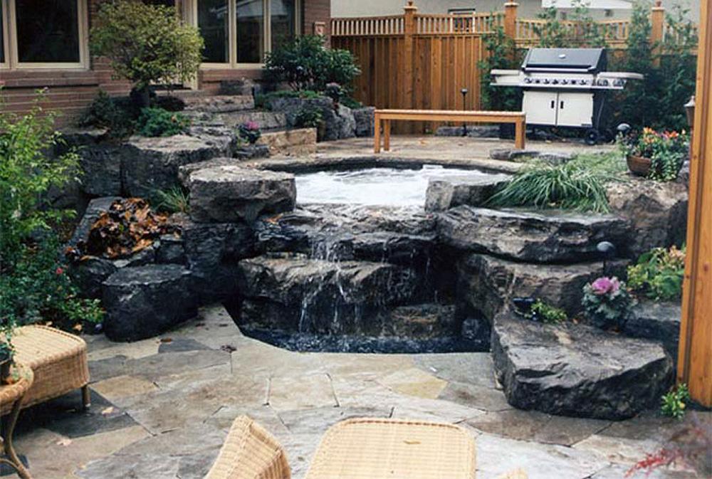 Hogan Landscaping  Hot Tub Oasis