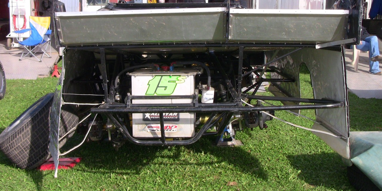 Left Rear Axle Weight for Dirt Racing Take 2