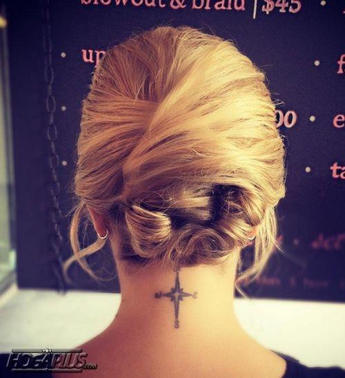 Swirl Bun Hairstyle For Short Hair