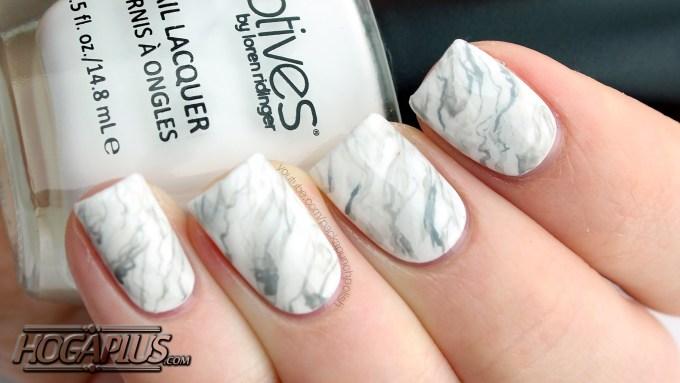Marble Nail Art design