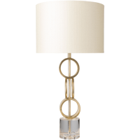 Modern Gold Table Lamp - Hogar Es ...