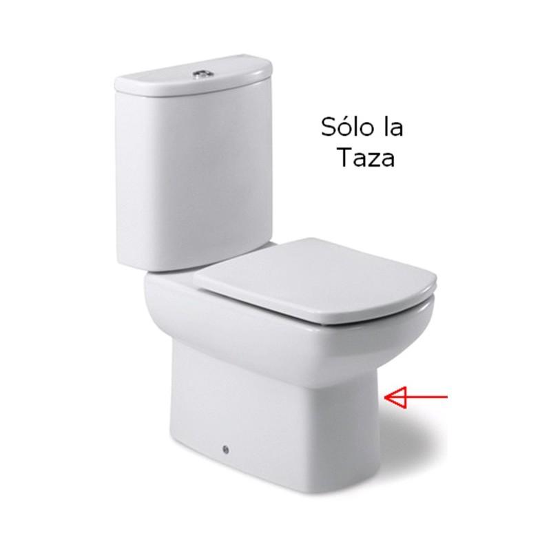 Taza DAMA SENSO tanque bajo salida dual blanco  Roca  Hogarissimo