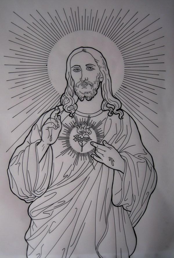 Jesus Irish St Tattoo